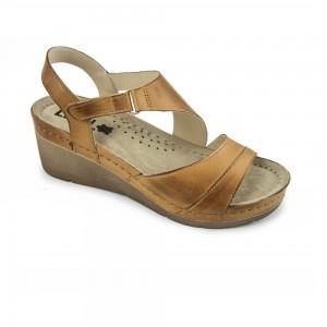 Sandale dama, de vara, din piele, Leon 1021