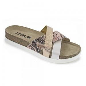 Sandale dama, de vara, din piele, Leon 1201