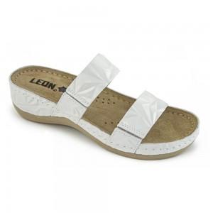 Sandale dama, de vara, din piele, Leon 918