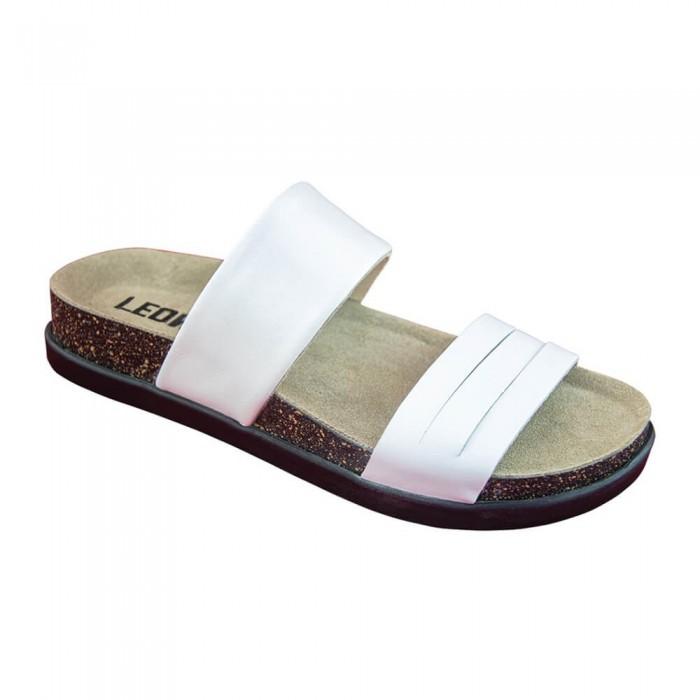 Sandale dama, de vara, din piele, Leon 1206